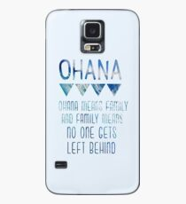 Ohana Means Family Case/Skin for Samsung Galaxy