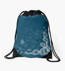 tRNA (transfer RNA) structure - white Drawstring Bag