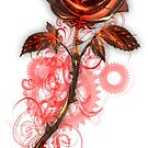 Steampunk Rose by Lorinda Tomko
