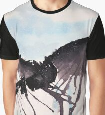 How To Train Your Dragon Watercolor Art Graphic T-Shirt