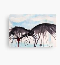 How To Train Your Dragon Watercolor Art Canvas Print