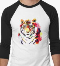 The Big Tiger Men's Baseball ¾ T-Shirt