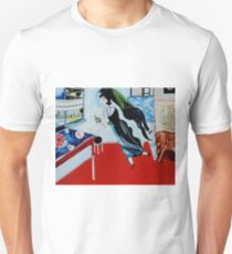 The Birthday - Tribute to Marc Chagall Unisex T-Shirt