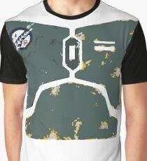 Boba Fett chestplate design  Graphic T-Shirt