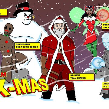 TEAM X-MAS by CheezyStudios