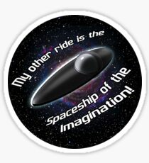 Space Ship of the Imagination - Cosmos: A Spacetime Odyssey Sticker