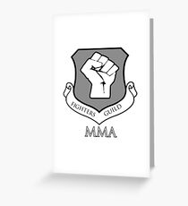 Fighters Guild MMA Greeting Card