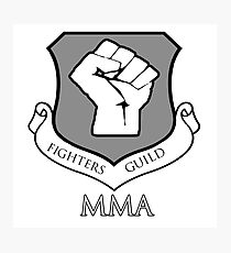 Fighters Guild MMA Photographic Print