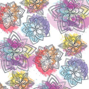 Flower of Rainbow  by teegs