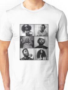 TDE - Kendrick, Ab-soul, Q, Jay Rock, Isaiah, SZA  Unisex T-Shirt