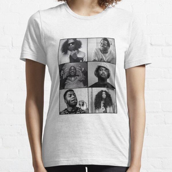 TDE - Kendrick, Ab-soul, Q, Jay Rock, Isaiah, SZA  Essential T-Shirt