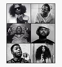 TDE - Kendrick, Ab-soul, Q, Jay Rock, Isaiah, SZA  Photographic Print