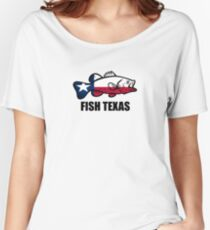 Fish Texas Women's Relaxed Fit T-Shirt