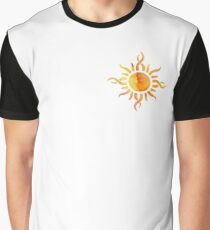 Watercolor Sun Graphic T-Shirt
