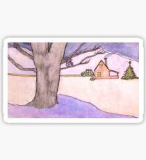 Home for Christmas Sticker