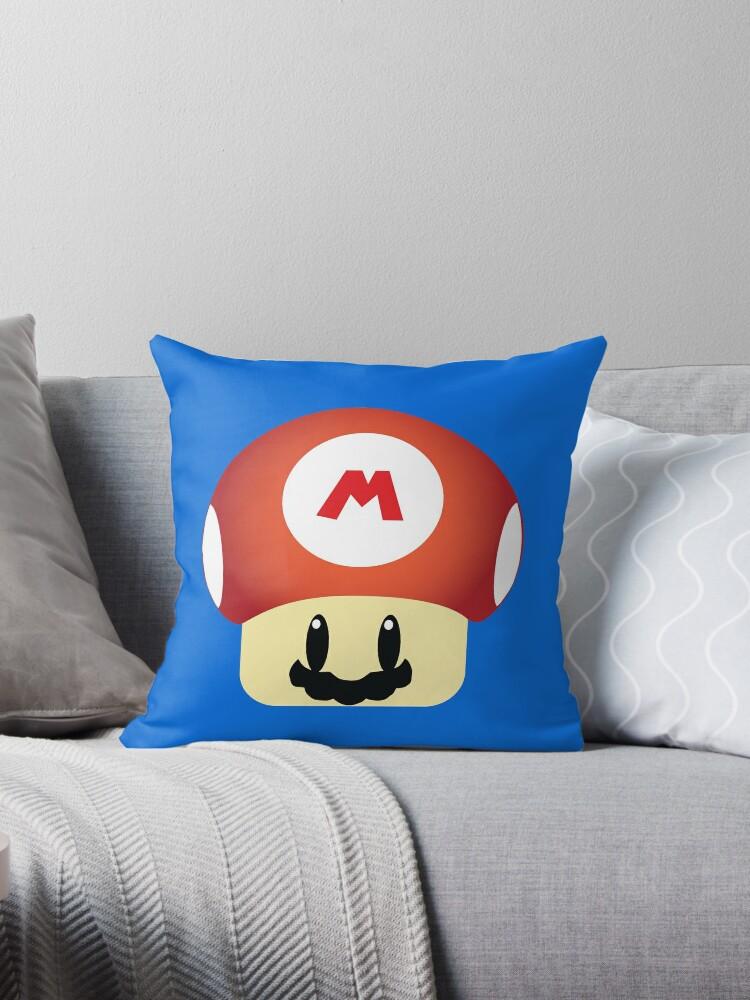 Mario GROW UP Mushroom by Brandigital