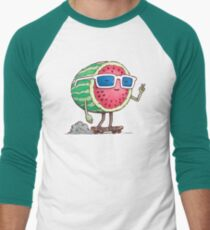 Watermelon Skater Men's Baseball ¾ T-Shirt