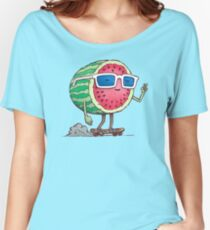 Watermelon Skater Women's Relaxed Fit T-Shirt
