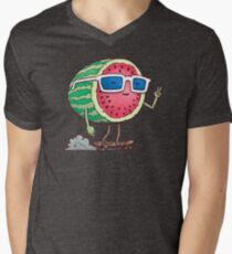 Watermelon Skater Men's V-Neck T-Shirt