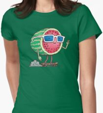 Wassermelonen-Skater Tailliertes T-Shirt