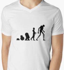 Droid Evolution Men's V-Neck T-Shirt