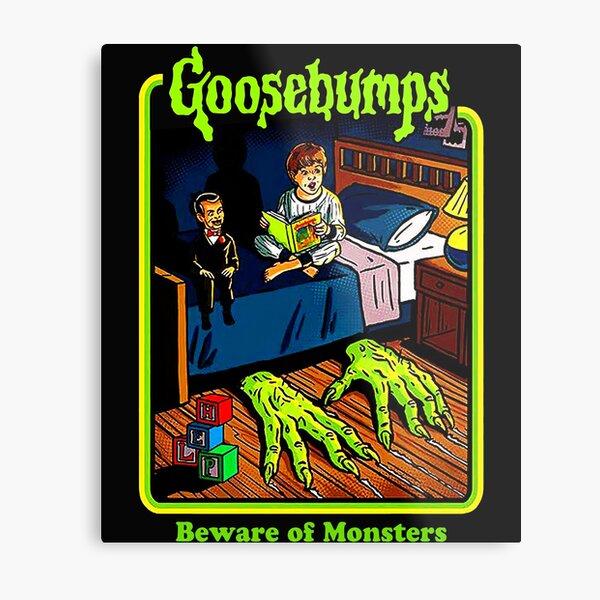 Goosebumps-Beware-Of-Monsters Metal Print