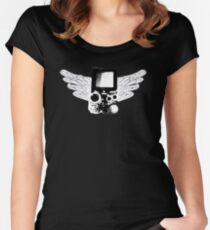 Winged Gameboy Women's Fitted Scoop T-Shirt