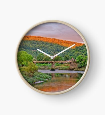 Medieval Tintern Abbey, Wales Clock
