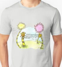 The Lorax Watercolor Quote Unisex T-Shirt