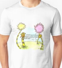 The Lorax Watercolor Quote T-Shirt