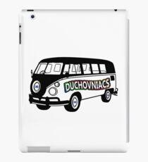 Duchovniacs Bus - David Duchovny Fan Squad iPad Case/Skin