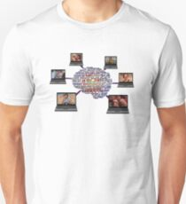 Neil Breen - Laptops on the Brain T-Shirt T-Shirt