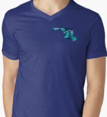 Maryland Men's V-Neck T-Shirt