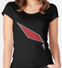 Pokémon Sun & Moon - Gladion's Jacket Design Women's Fitted Scoop T-Shirt
