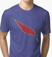 Pokémon Sun & Moon - Gladion's Jacket Design Tri-blend T-Shirt
