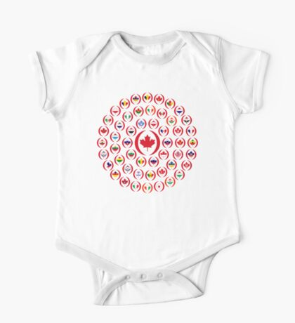 We Are Canada Multinational Patriot Collective 1.0 Kids Clothes