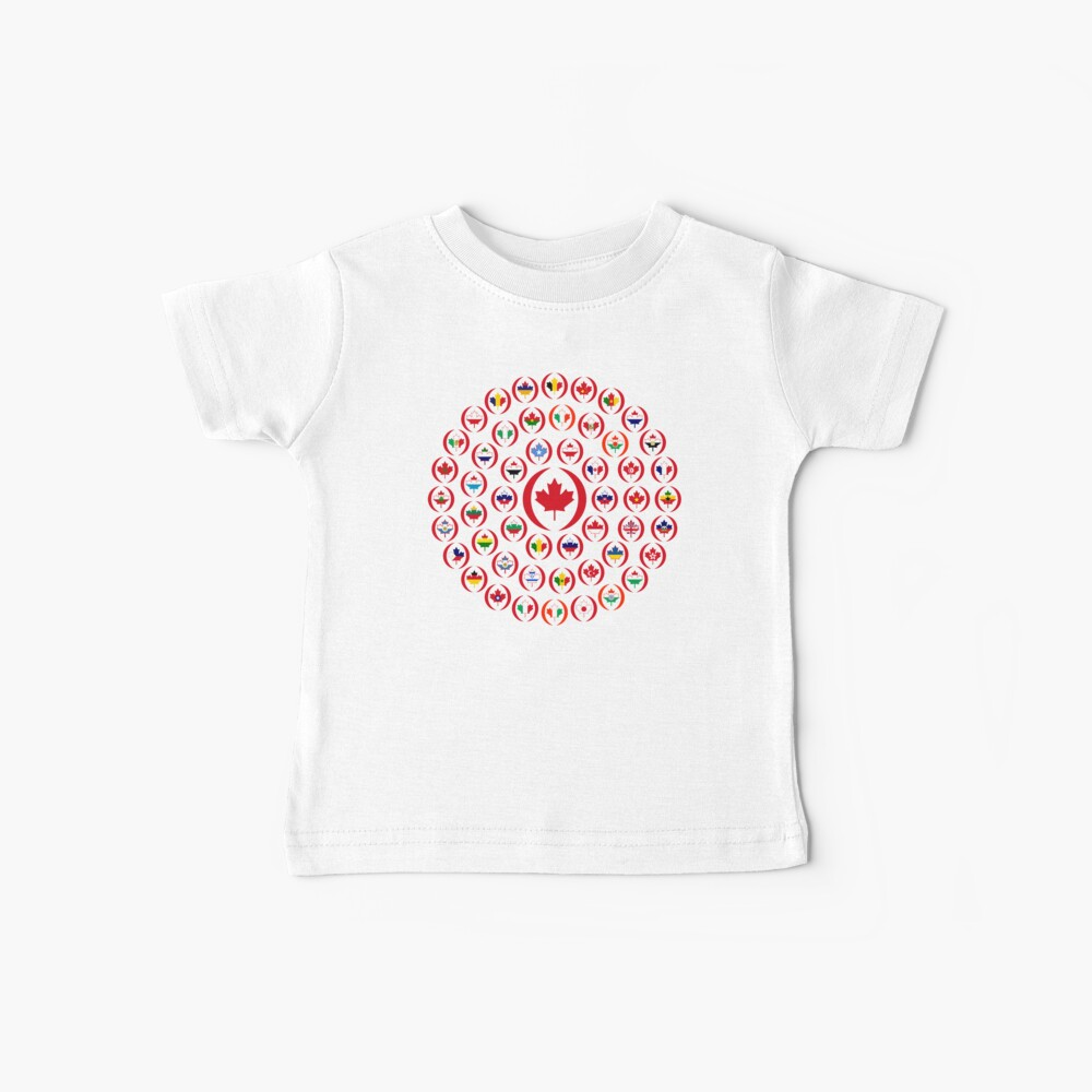 We Are Canada Multinational Patriot Collective 1.0 Baby T-Shirt