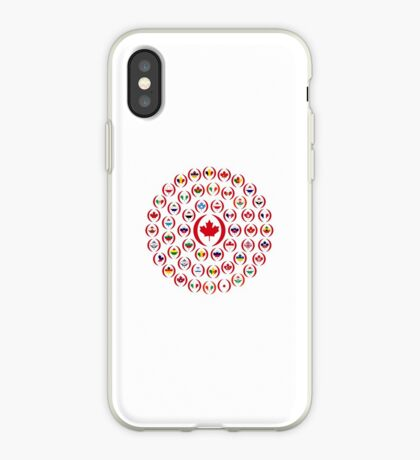 We Are Canada Multinational Patriot Collective 1.0 iPhone Case