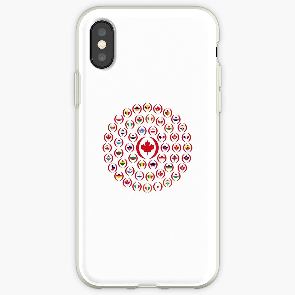 We Are Canada Multinational Patriot Collective 1.0 iPhone Case & Cover