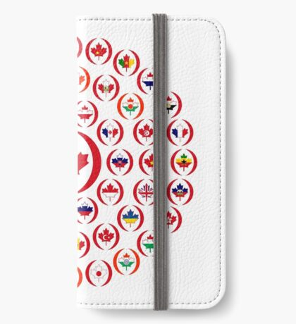 We Are Canada Multinational Patriot Collective 1.0 iPhone Wallet