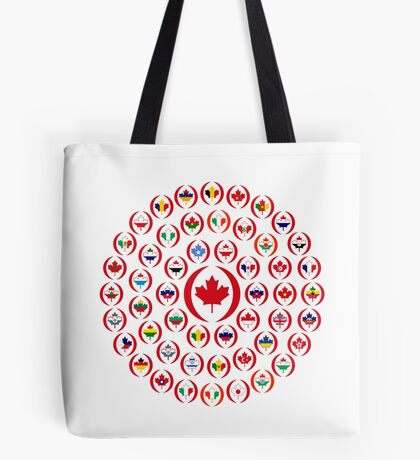 We Are Canada Multinational Patriot Collective 1.0 Tote Bag