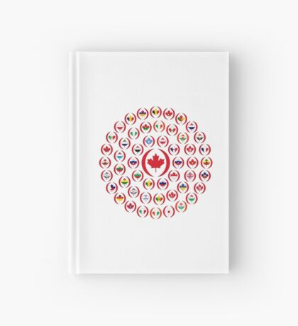 We Are Canada Multinational Patriot Collective 1.0 Hardcover Journal