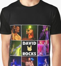 David Duchovny Rocks Graphic T-Shirt