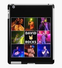 David Duchovny Rocks iPad Case/Skin