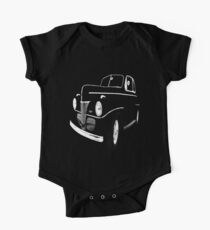 1941 Ford, Black on Black One Piece - Short Sleeve