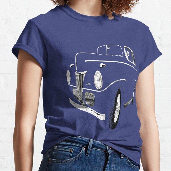 1941 Ford, Black on Black, Vintage old car, car show OKC,USA Classic T-Shirt
