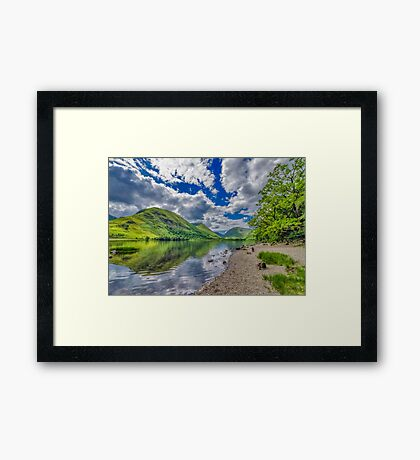 Brothers Water Lake District Framed Print