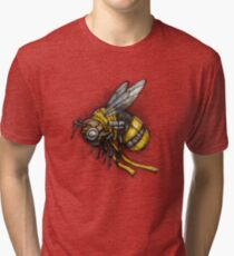 Bumblebee Shirt (Light Background) Tri-blend T-Shirt