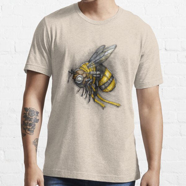 Bumblebee Shirt (Light Background) Essential T-Shirt