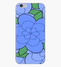 Blue Flowers iPhone Case